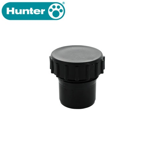 Hunter 50mm Solvent Waste Pipe Access Cap - Black