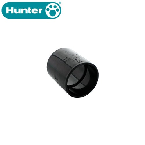 Hunter 50mm Solvent Waste Pipe Straight Coupling - Black