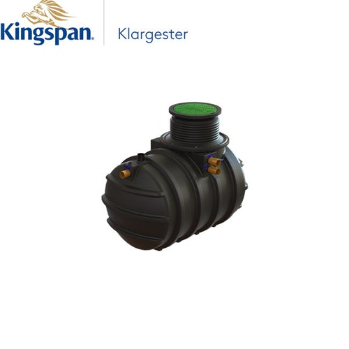 Klargester BioFicient 3 1000mm Invert with IPS and HLA