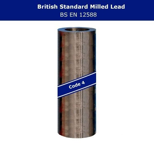 Lead Code 4 - 510mm x 6m Milled Lead Flashing