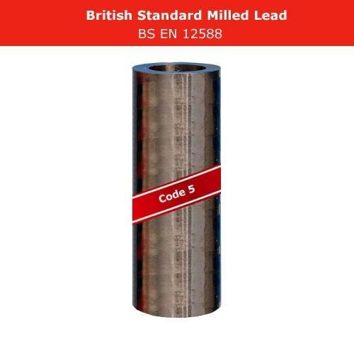 Lead Code 5 - 300mm x 6m Milled Lead Flashing