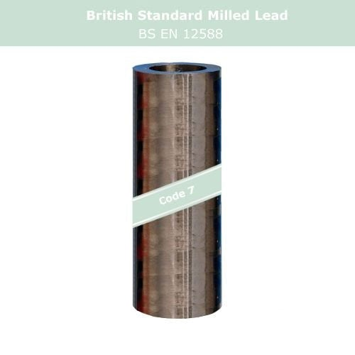 Lead Code 7 - 210mm x 6m Milled Lead Flashing
