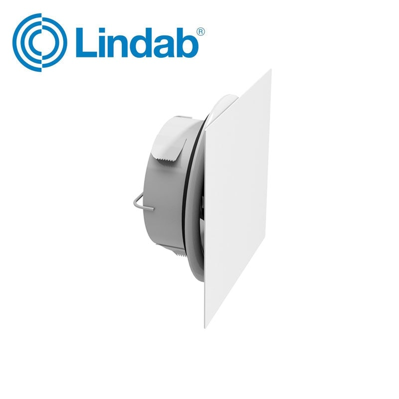 Video of Lindab Airy Valve Front Plate Square - 125mm