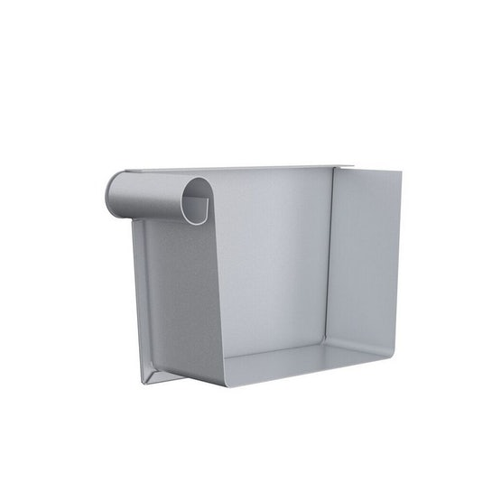 Video of Lindab Rectangular Left Hand Stop End 140mm Magestic Galvanised