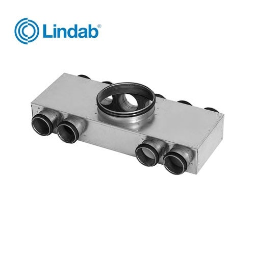 Video of Ventilation Manifold 125mm x 63mm with 6 Ports - Lindab Indomo MCU