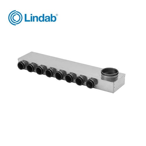 Video of Ventilation Manifold 125mm x 63mm with 8 Ports - Lindab Indomo MRU