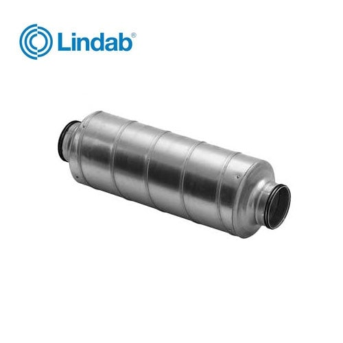 Video of Ventilation Straight Silencer 125mm x 600mm - Lindab Indomo SLXU