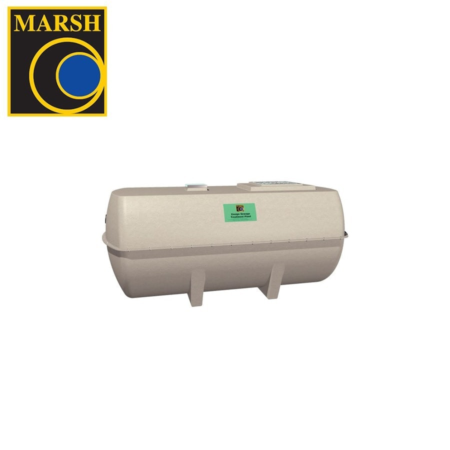 Video of Marsh Ensign Low Profile Sewage Treatment Plant Domestic - 16 Person Tank