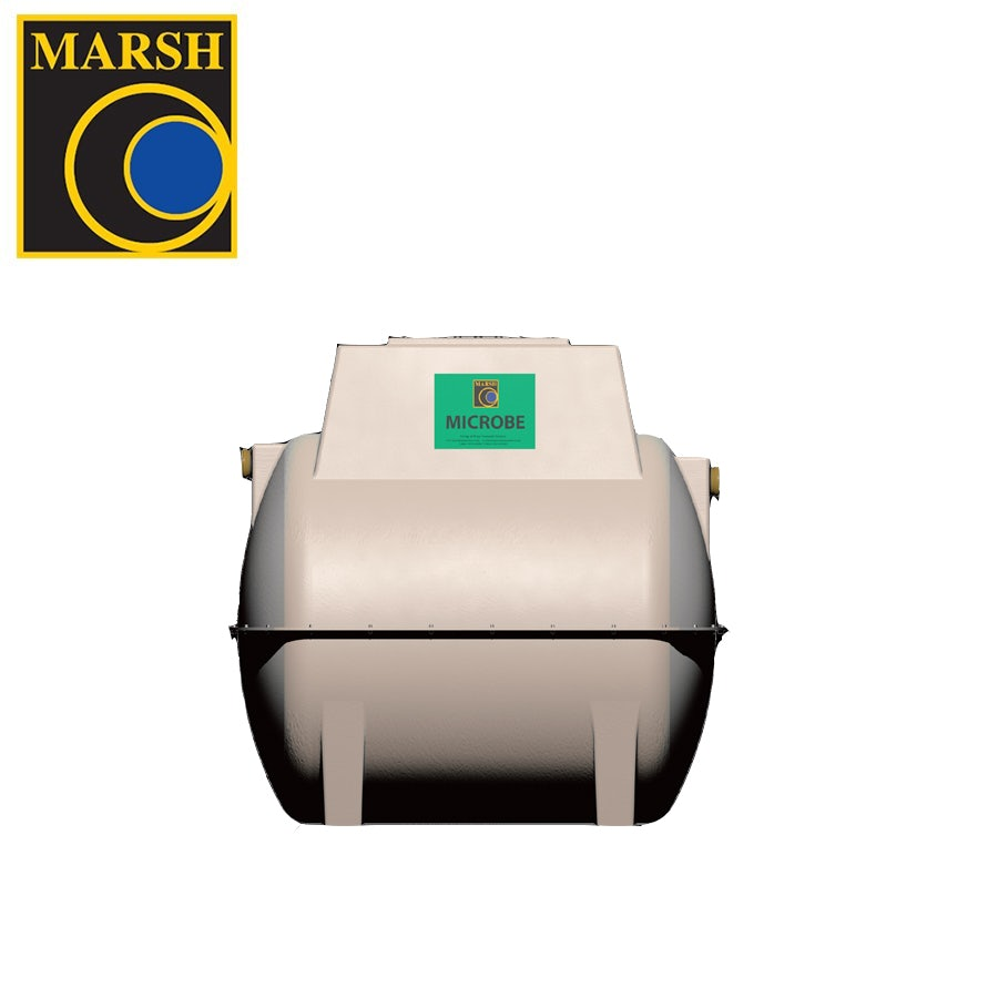 Marsh Microbe Ensign Aboveground Sewage Treatment Plant - 4 Person Tank