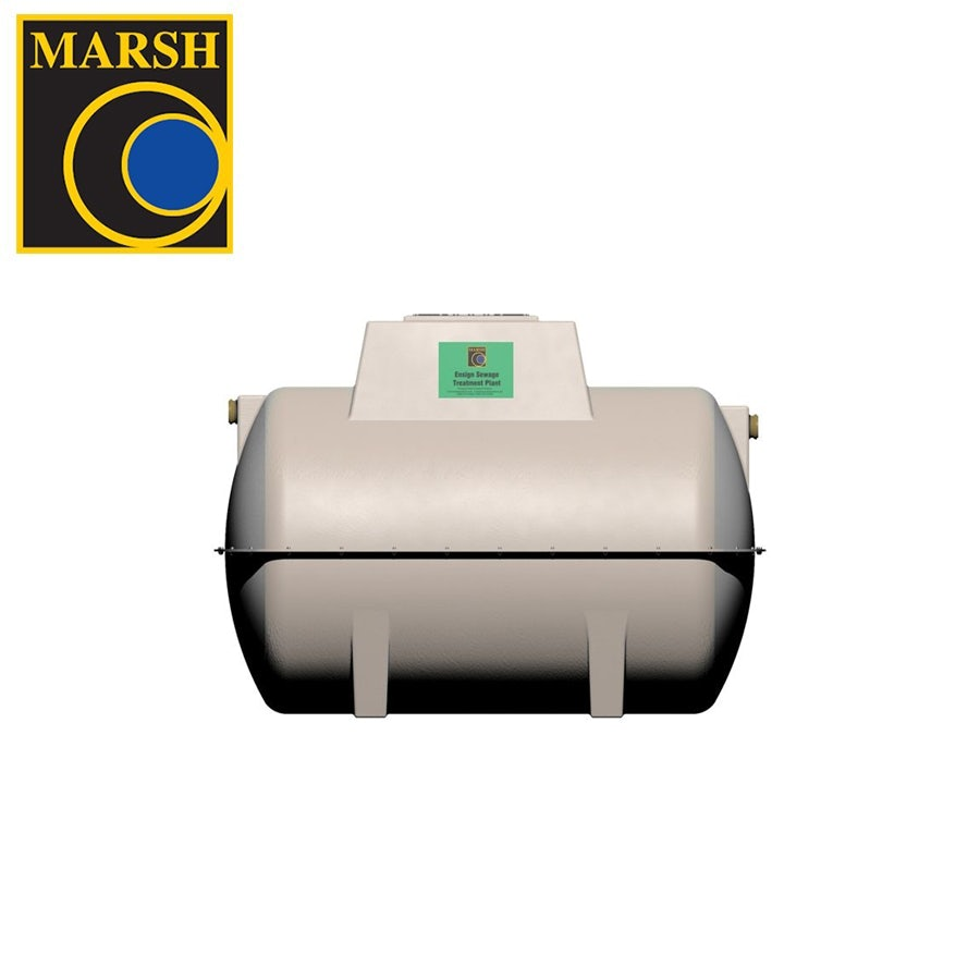 Video of Marsh Ensign Sewage Treatment Plant with Pump - 10 Person Tank