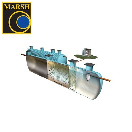 Marsh Polylok Sewage Treatment Plant Commercial - 65 Person Tank