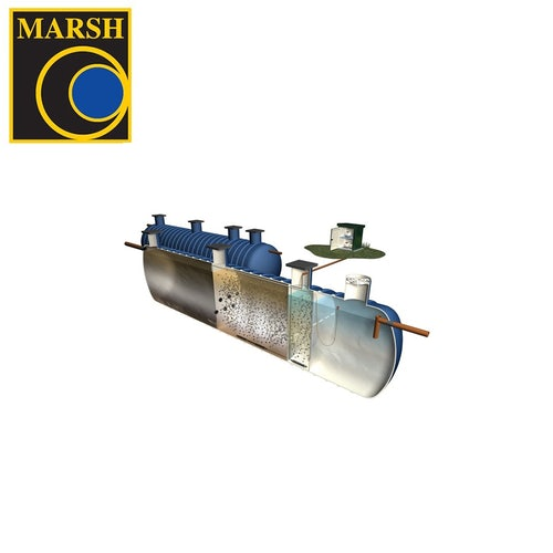 Marsh:Standard Sewage Treatment Plant - 200 People