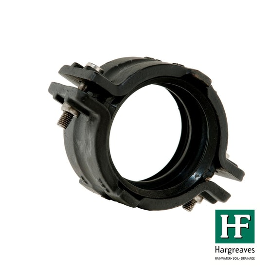 Cast Iron Mech 416 Soil Pipe Ductile Coupling with Continuity - 100mm