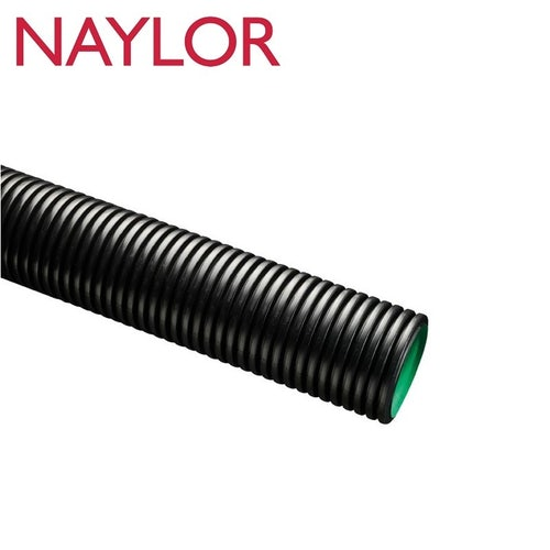 Naylor MetroDrain Perforated Twinwall Pipe 150mm x 6m