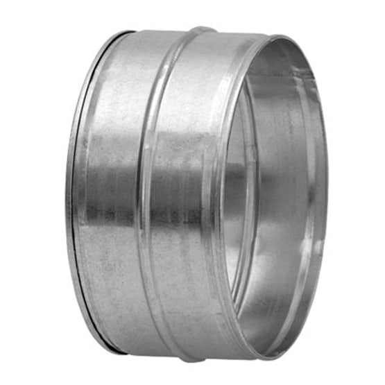 Sprial Ducting 125mm Male Safe Coupling