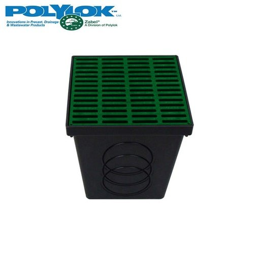 polylok-300mm-square-catch-basin-with-green-grate-and-seals