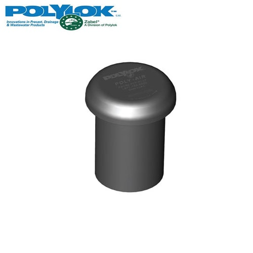 Polylok Poly-air 102mm Carbon Vent Filter with 102mm x 110mm Reducing Bush