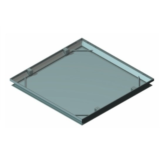 PS3100 Single Recessed Tray Type Cover and Frame - 300mm x 300mm