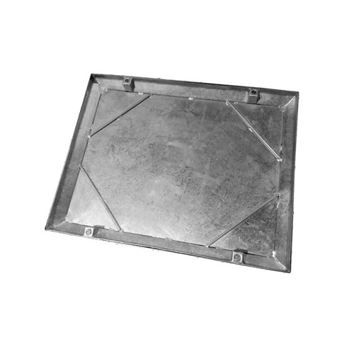 Wrekin C271M/060045 Double Seal Recessed Manhole Cover & Frame 600mm x 450mm - 10 Tonne