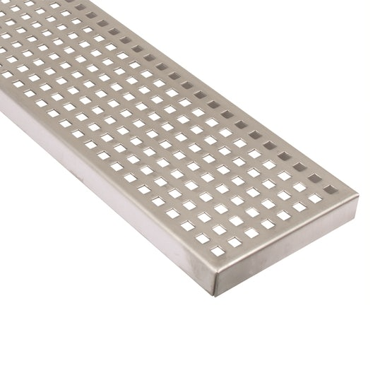 Commercial Linear Channel Drain Grating - 144mm x 499mm