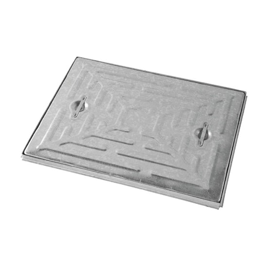 Steel Access Manhole Cover and Frame 600mm x 600mm - 17.5 Tonne