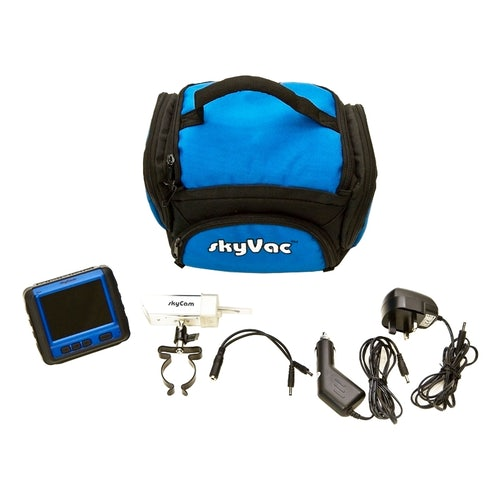 SkyCam Waterproof Recordable Camera System with Wireless Monitor