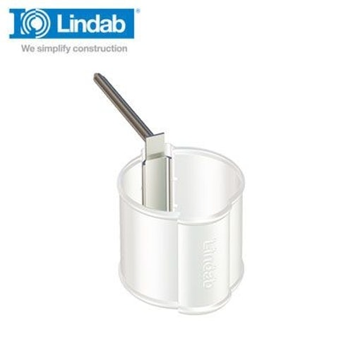 Lindab Round Spike for Pipe Holder 175mm Galvanised