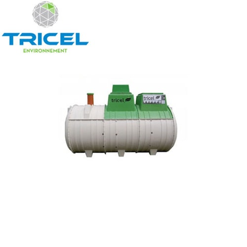Tricel Novo 18UK Sewage Treatment Plant Pumped Outlet and Alarm