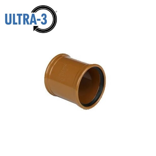 Video of ULTRA3 Sewer Underground Drainage Pipe Slip Coupler - 110mm