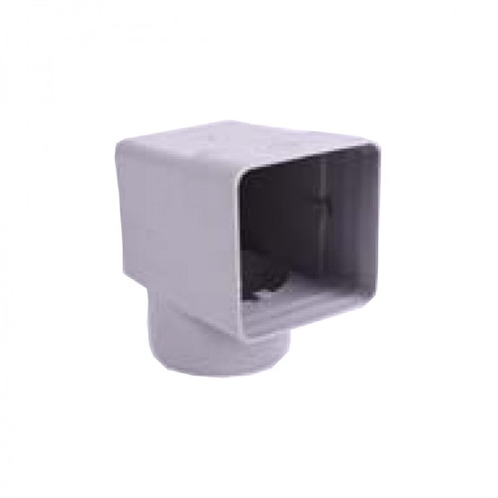 Rubber Parapet Wall Pipe Adaptor - 100mm x 100mm for 110mm Soil Pipe