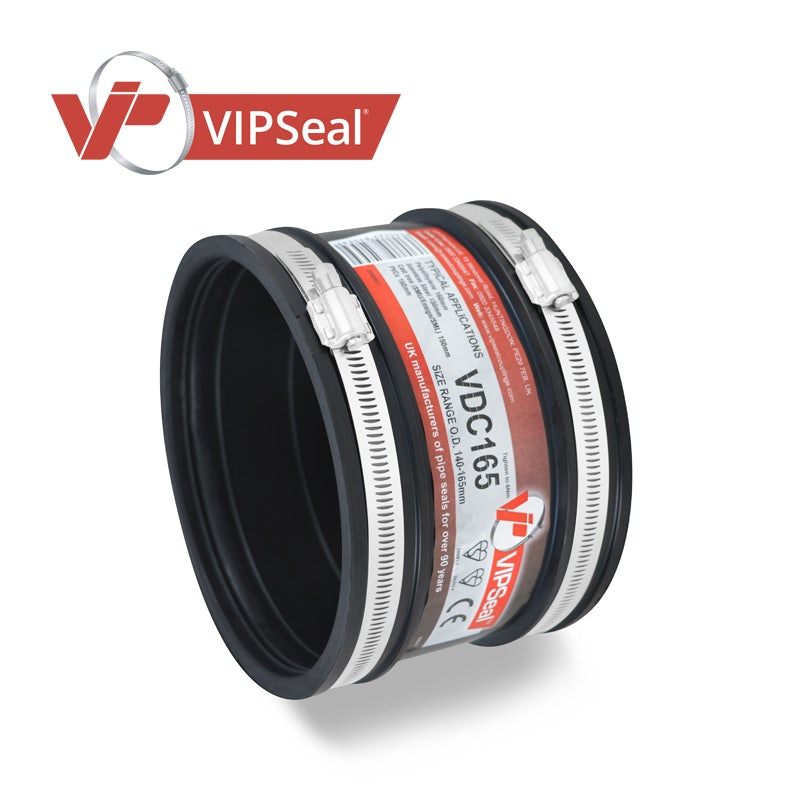 Video of VIPSeal Rubber Flexible Drain Coupling 140-165mm