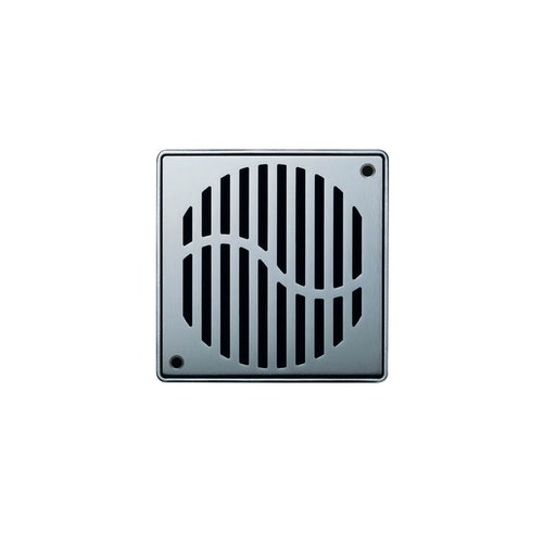 ACO Shower Gully Wave Grate for Tiled Flooring 135mm x 135mm