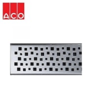 ACO Sheet Flooring Shower Drainage Channel Quatro Grating 1000mm