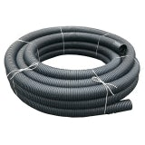 Unperforated Land Drain Coil Pipe 100mm x 25m