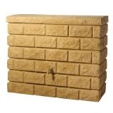 Water Storage Wall Tank Water Butt Rocky Wall 400L - Sandstone