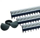 A15 Channel Drainage 3m Garage Pack with Galvanised Grates - Dek Drain