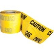 Detectable Underground Warning Tape Yellow Gas Mains 150mm x 100m