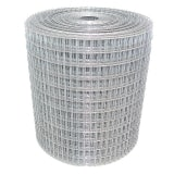 Galvanised Steel Mesh 50mm x 50mm 14G Weldmesh - 25m