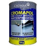 Cromapol Acrylic Roof Coating - 5kg Grey