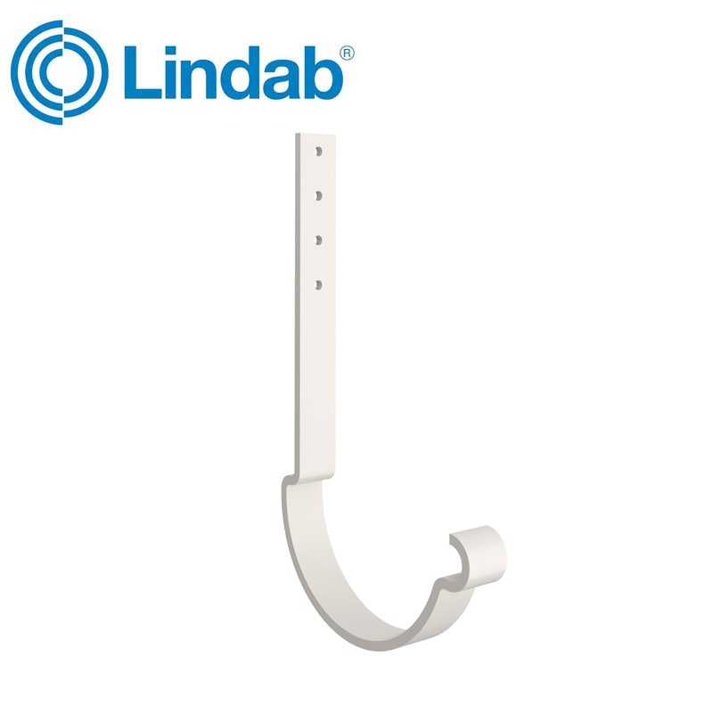 Lindab Half Round Rafter Bracket 100mm Painted Antique White