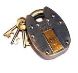 Security Padlock Esquire Old English Padlock 440 - Large with 2 Keys