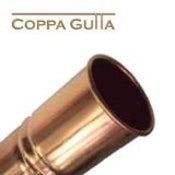 Copper Guttering Round 100mm Downpipe 2.4m Length