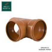 Sewer Pipe 87.5 Degree Double Socket Branch - 315mm x 200mm