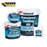 Aquaseal Wet Room System 7.5m2 - Waterproof Tanking Kit