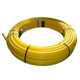 Gas Pipe MDPE Coil 20mm x 100m - Yellow