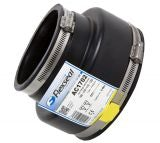 Flexseal 125mm to 100mm Rubber Flexible Drainage Adaptor Coupling