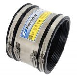 Flexseal 80mm to 95mm Rubber Flexible Drainage Adaptor Coupling