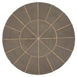Kelkay Stone Circle Patio Kit Minster Paving 1.8m - Graphite