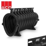 ACO Qmax 700 Slot Channel with Q-Guard Iron Edge Rail 2m