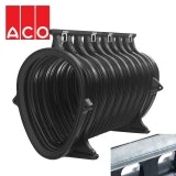 ACO Qmax 900 Slot Channel with Q-Slot Steel Edge Rail 2m